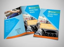 2 fold brochure template driving school brochure template mycreativeshop