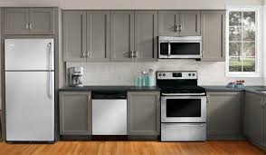 grey stained oak kitchen cabinets outofhome