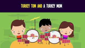 turkey tom and a turkey song for thanksgiving songs