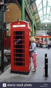 uk red telephone box converted stock photos u0026 uk red telephone box