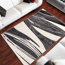 Wohnzimmer Grau Creme Designer Teppich Wohnzimmer Teppich Sch N Muster In Grau Creme