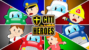 learn community helpers and occupation for kids with citi heroes
