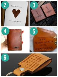 leather anniversary gifts for him ideas for wedding anniversary gifts by year the dating divas