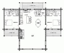 collections of log cabin plans with open floor plans free home