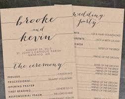 what to put on wedding programs modern wedding program wedding ceremony programs by annamalie