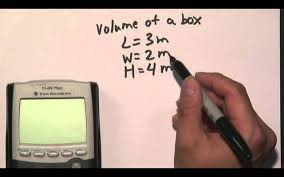 how to calculate cubic meters youtube