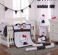Baby Nursery Bedding Set by Baby Bedding Sets Hello Kitty Black Baby Bedding 4 Piece Crib
