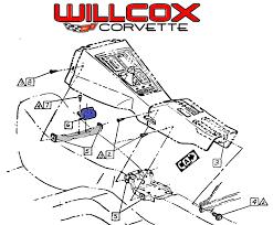 1968 1972 wiper relay location willcox corvette inc