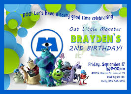 army birthday invitations monsters inc birthday invitations reduxsquad com