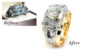 wedding rings redesigned restore antique jewelry inherited jewelry pieces with calla gold