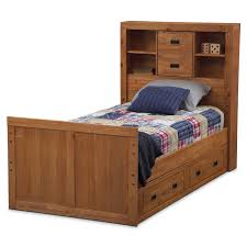 kids twin beds with storage kids furniture dylan pine twin