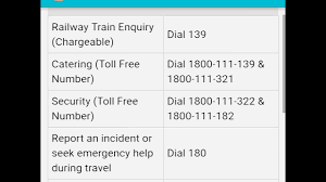 railway helpline number youtube