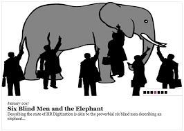 Blind Man And Elephant Six Blind Men Discover Digitization Rajiv Maheshwari