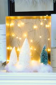 Make Your Own Christmas Light Decorations by Diy Christmas Woodland Fairy Light Shadow Boxes Making Lemonade