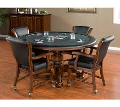 poker game table set american heritage hustler collection poker table and 4 clarisa