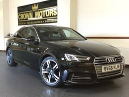 used audi a4 s line black cars for sale motors co uk