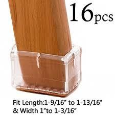 amazon com limbridge chair leg wood floor protectors chair