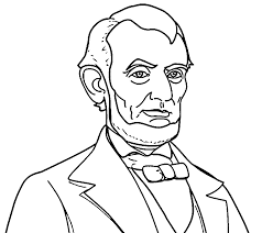 abraham lincoln president abe coloring pages wecoloringpage