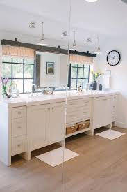 photos hgtv tiffani thiessen master bathroom with barn door track