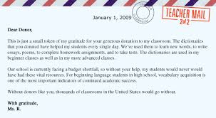 donorschoose org impact letter example