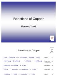 Worksheet 5 Double Replacement Reactions Reactions Of Copper Experiment 6 Redox Sodium Hydroxide