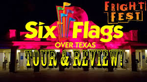 Six Flags Over Texas Season Pass Coupons Six Flags Over Texas Full Park Fright Fest Tour U0026 Review Youtube
