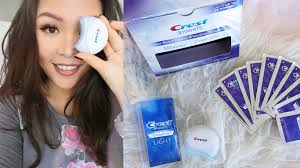 Crest 3d Whitestrips With Light Teeth Whitening Kit Review Cindy