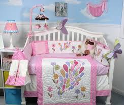 Girls Nursery Bedding Set by Dancing Owl Crib Bedding Set All About Crib