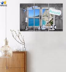 selling home interior products seaview boat for living room wall picture promotion shop for
