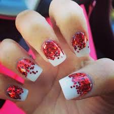 50 festive christmas nail art designs u2013 bowie news