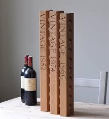 solid oak wine rack humphreys of henley