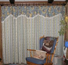 front door curtains okay i didnt actually do the sewing confess