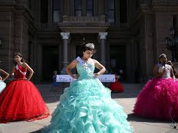 quincea eras dresses with speeches and bright dresses quinceañeras protest