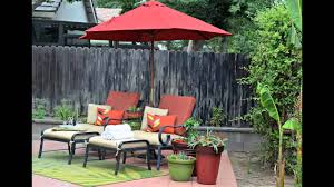 small patio umbrella design ideas youtube