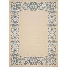 Safavieh Outdoor Rugs Floral Safavieh 4 X 6 Outdoor Rugs Rugs The Home Depot