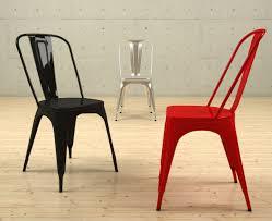 Tolix Armchair Vintage Tolix Chair 3d By Nobrandstudio 3docean