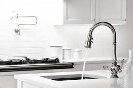 Fix Kohler Kitchen Faucet by Faucet Com K 99261 Cp In Polished Chrome By Kohler