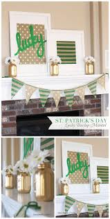 Irish Home Decorating Ideas Best 25 St Patrick U0027s Day Decorations Ideas On Pinterest St