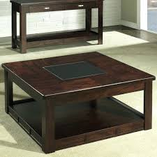 Glass Top Square Coffee Table Wood Square Coffee Table Glass Top Wooden With Drawers Storage
