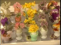 How To Make Floral Arrangements Video How To Make Egg Shell Floral Arrangements Martha Stewart