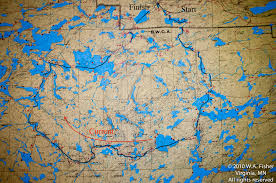 Boundary Waters Map Bwca Routes Clearwater Bwca Outfitters Clearwater Route
