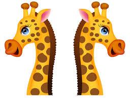 stickers girafe chambre bébé sticker girafe un autocollant jungle repositionnable pour déco enfant