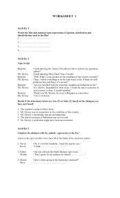 english worksheet xi
