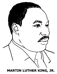 Z Onae Coloring People Martin Luther King Mlk Coloring Pages