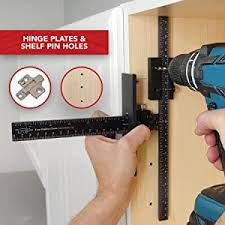 kitchen cabinet door hardware jig the original cabinet hardware jig adjustable drill guide for fast and accurate installation of door and drawer front knobs pulls and handles