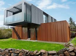 grand designs shipping container home by patrick bradley metal