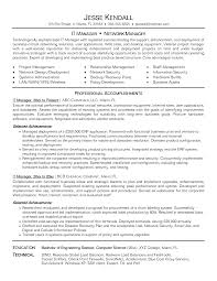 it manager resume it manager resume experienced it project manager resume sle