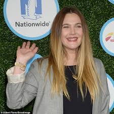 drew barrymore flashes u0027olive and frankie u0027 tattoo at safe kids day