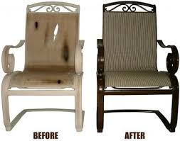 Outdoor Furniture Repair - Patio furniture repair