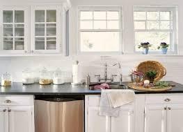 White Cabinets With Grey Quartz Countertops White Kitchen Cabinets Grey Backsplash Ellajanegoeppinger Com
